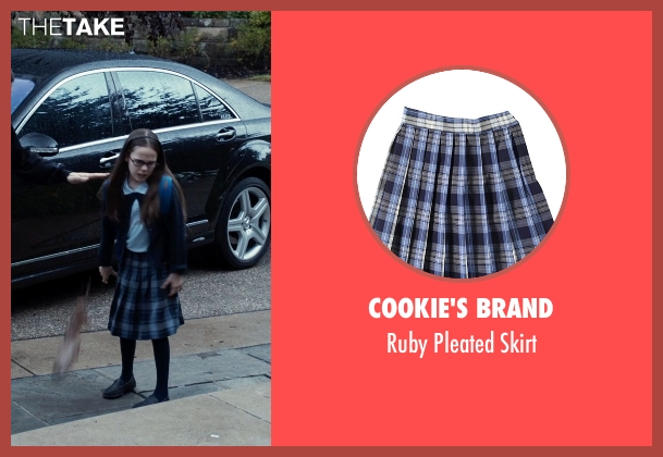 Cookie's Brand blue skirt from Southpaw seen with Oona Laurence (Leila Hope)