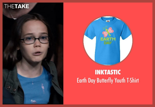 Inktastic blue t-shirt from Southpaw seen with Oona Laurence (Leila Hope)