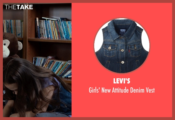 Levi's blue vest from Southpaw seen with Oona Laurence (Leila Hope)