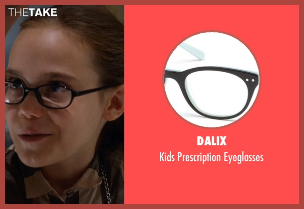 Dalix eyeglasses from Southpaw seen with Oona Laurence (Leila Hope)