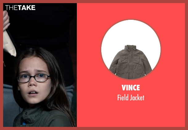 Vince gray jacket from Southpaw seen with Oona Laurence (Leila Hope)