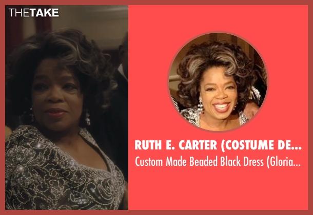 Ruth E. Carter (Costume Designer) black dress from Lee Daniels' The Butler seen with Oprah Winfrey (Gloria Gaines)