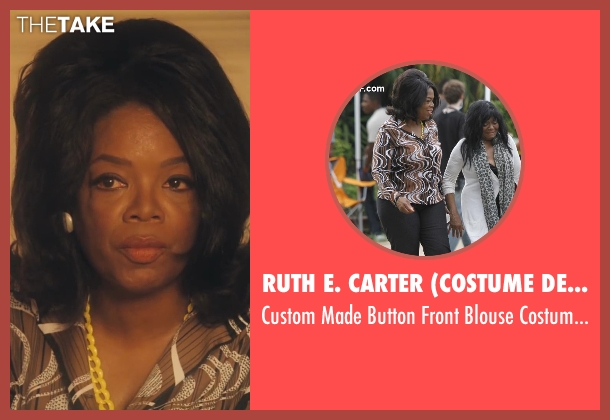 Ruth E. Carter (Costume Designer) costume from Lee Daniels' The Butler seen with Oprah Winfrey (Gloria Gaines)