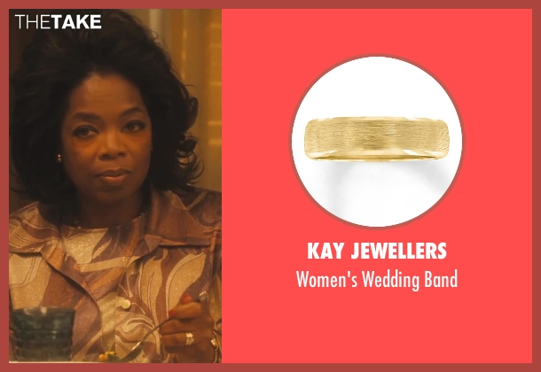 Kay Jewellers gold band from Lee Daniels' The Butler seen with Oprah Winfrey (Gloria Gaines)