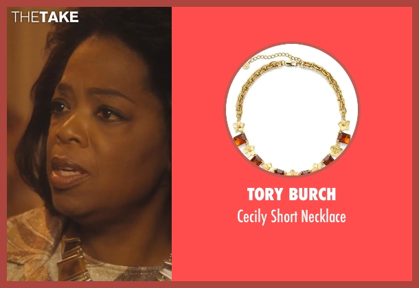 Tory Burch necklace from Lee Daniels' The Butler seen with Oprah Winfrey (Gloria Gaines)