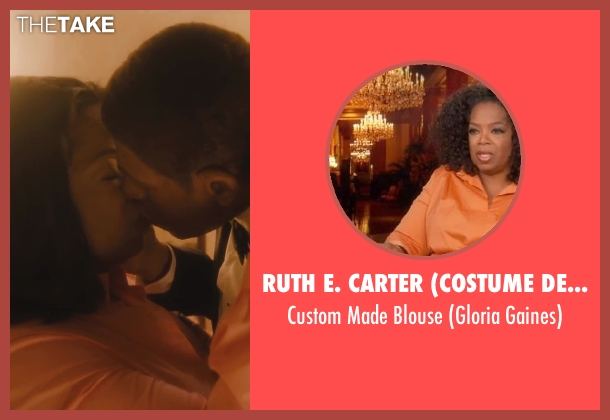 Ruth E. Carter (Costume Designer) pink blouse from Lee Daniels' The Butler seen with Oprah Winfrey (Gloria Gaines)