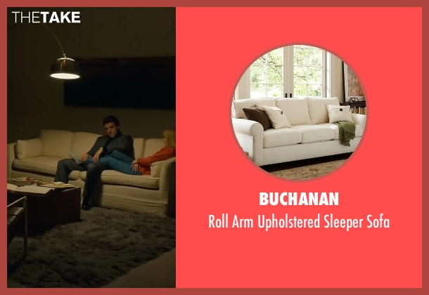 Buchanan sofa from A Most Violent Year seen with Oscar Isaac (Abel Morales)