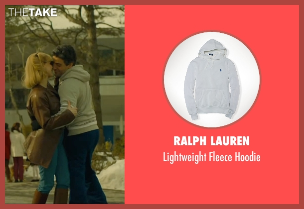 Ralph Lauren white hoodie from A Most Violent Year seen with Oscar Isaac (Abel Morales)