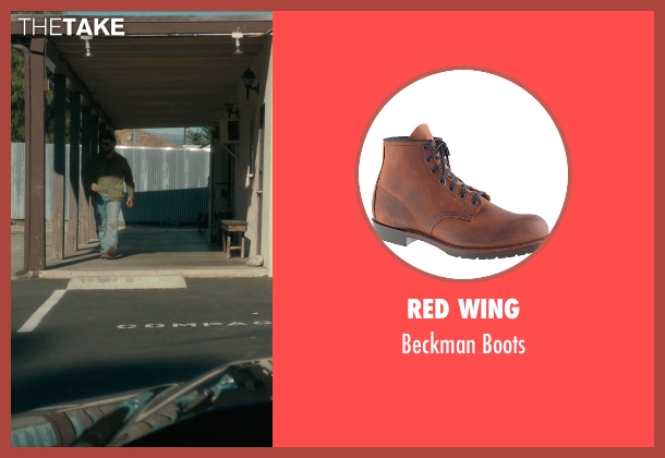 Red Wing brown boots from Drive seen with Oscar Isaac (Standard)