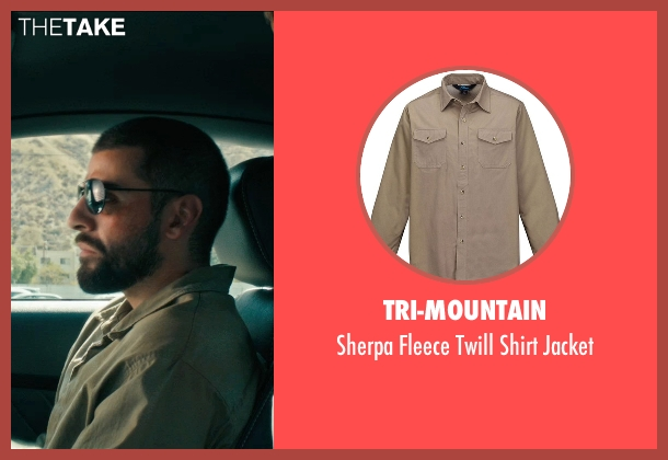 Tri-Mountain green jacket from Drive seen with Oscar Isaac (Standard)