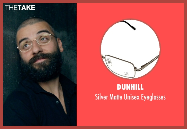 Dunhill eyeglasses from Ex Machina seen with Oscar Isaac (Nathan)