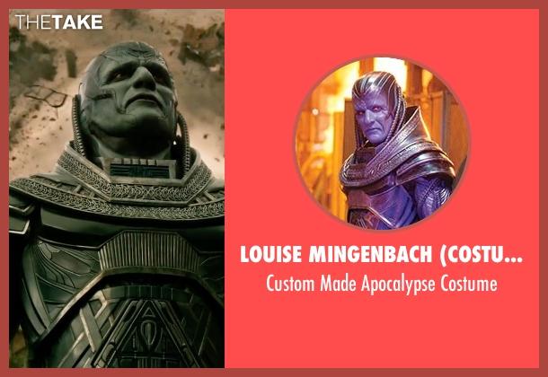 Louise Mingenbach (Costume Designer) costume from X-Men: Apocalypse seen with Oscar Isaac (En Sabah Nur / Apocalypse)