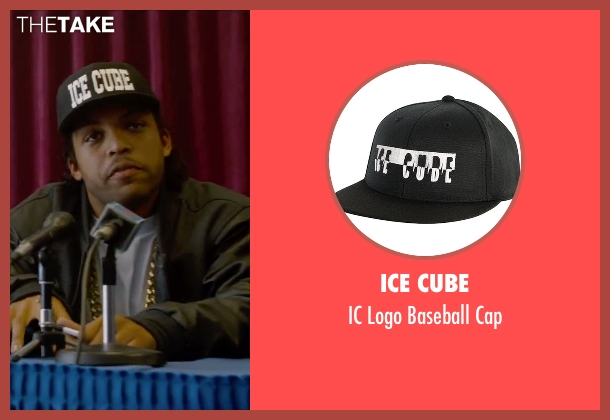 Ice Cube black cap from Straight Outta Compton seen with O'Shea Jackson Jr. (Ice Cube)
