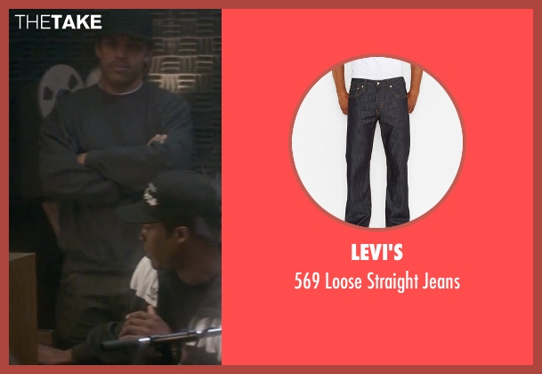 Levi's black jeans from Straight Outta Compton seen with O'Shea Jackson Jr. (Ice Cube)