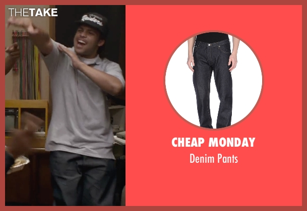 Cheap Monday black pants from Straight Outta Compton seen with O'Shea Jackson Jr. (Ice Cube)