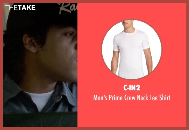 C-In2 white shirt from Straight Outta Compton seen with O'Shea Jackson Jr. (Ice Cube)