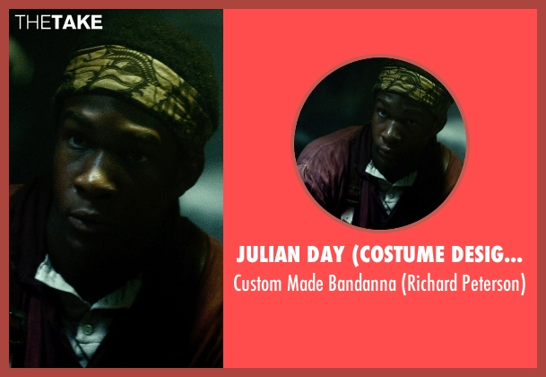 Julian Day (Costume Designer) yellow bandanna from In the Heart of the Sea seen with Osy Ikhile (Richard Peterson)