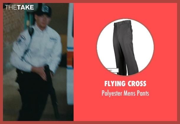 Flying Cross black pants from The Town seen with Owen Burke (Desmond Elden)