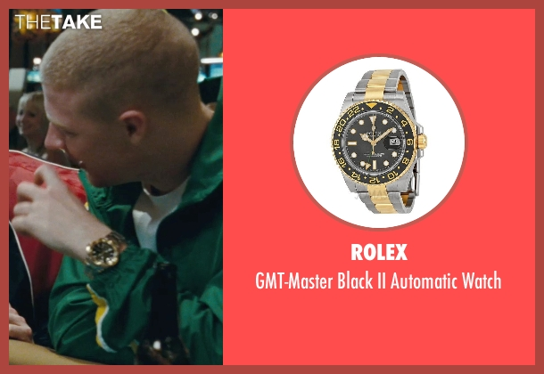 Rolex gold watch from The Town seen with Owen Burke (Desmond Elden)
