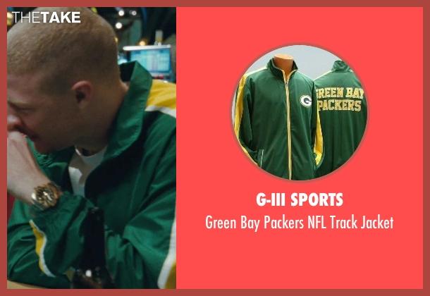 G-III Sports green jacket from The Town seen with Owen Burke (Desmond Elden)