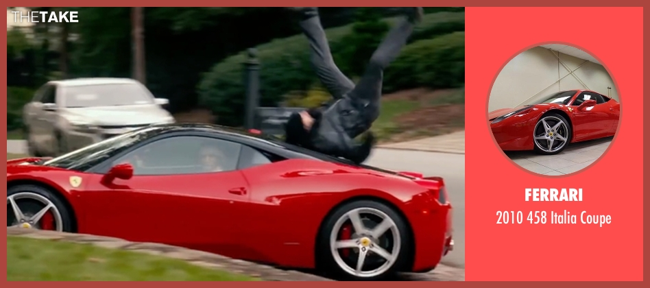 Ferrari coupe from Bastards seen with Owen Wilson (Kyle Reynolds)
