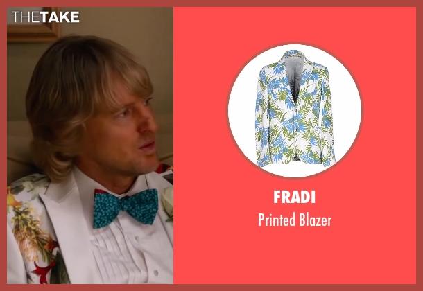 Fradi white blazer from Bastards seen with Owen Wilson (Kyle Reynolds)