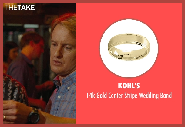 Kohl's band from Hall Pass seen with Owen Wilson (Rick)