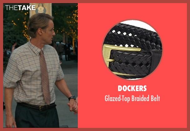 Dockers black belt from Hall Pass seen with Owen Wilson (Rick)