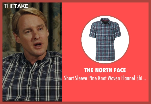 The North Face blue blue from Hall Pass seen with Owen Wilson (Rick)