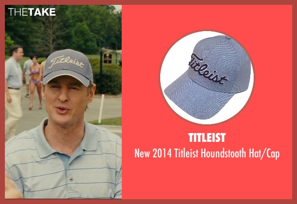 Titleist blue hat/cap from Hall Pass seen with Owen Wilson (Rick)