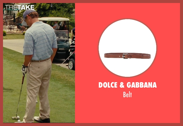 Dolce & Gabbana brown belt from Hall Pass seen with Owen Wilson (Rick)