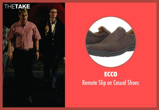 Ecco brown shoes from Hall Pass seen with Owen Wilson (Rick)
