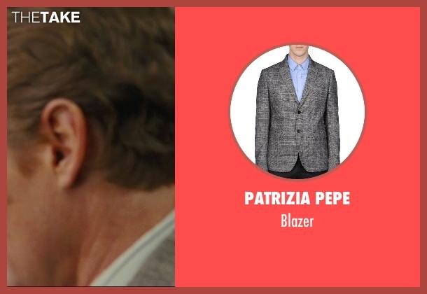 Patrizia Pepe gray blazer from Hall Pass seen with Owen Wilson (Rick)