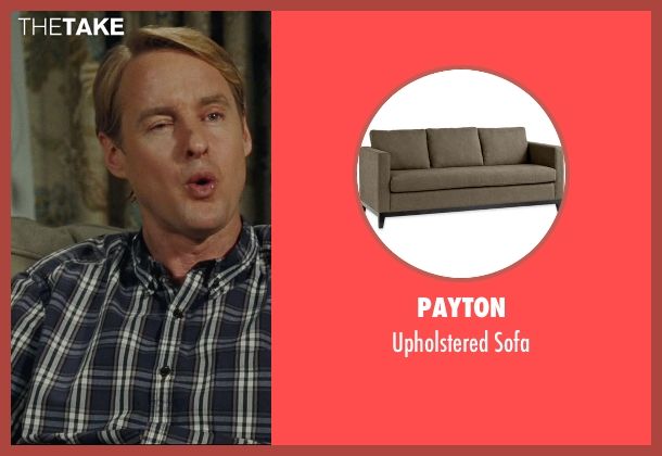 Payton sofa from Hall Pass seen with Owen Wilson (Rick)