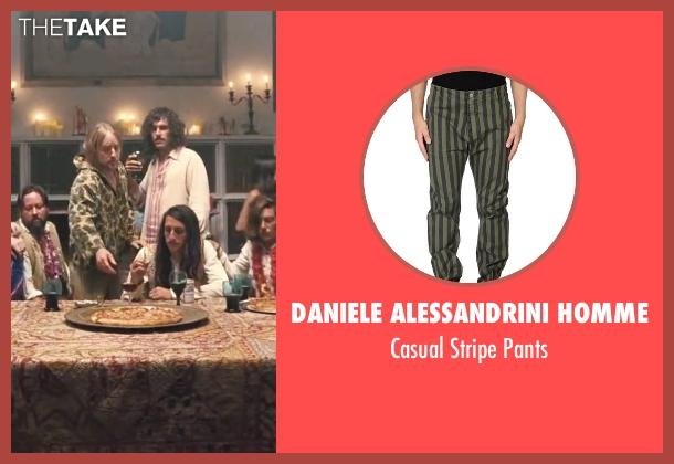 Daniele Alessandrini Homme green pants from Inherent Vice seen with Owen Wilson (Coy Harlingen)