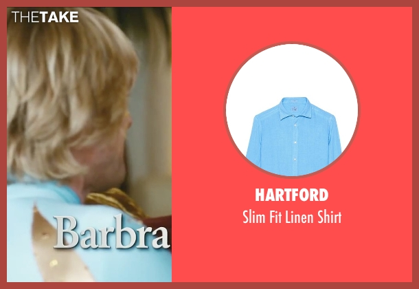 Hartford blue shirt from Little Fockers seen with Owen Wilson (Kevin Rawley)