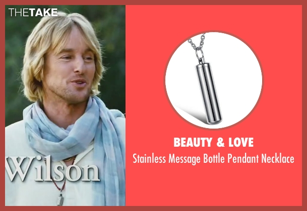 Beauty & Love silver necklace from Little Fockers seen with Owen Wilson (Kevin Rawley)