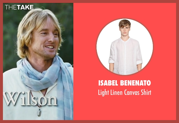 Isabel Benenato white shirt from Little Fockers seen with Owen Wilson (Kevin Rawley)