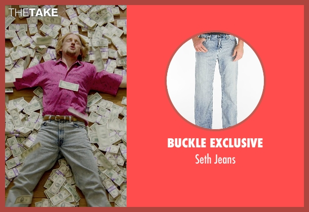Buckle Exclusive blue jeans from Masterminds seen with Owen Wilson (Steve)