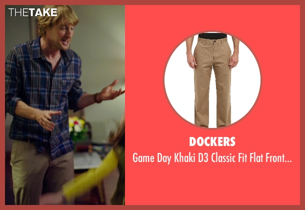 Dockers brown pant from No Escape seen with Owen Wilson (Jack Dwyer)