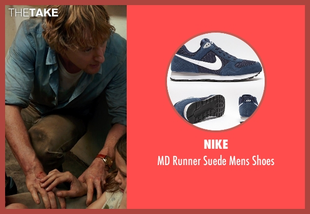 Nike gray shoes from No Escape seen with Owen Wilson (Jack Dwyer)