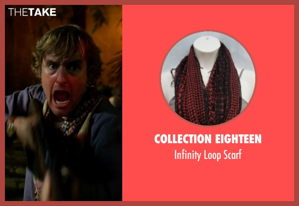 Collection Eighteen scarf from No Escape seen with Owen Wilson (Jack Dwyer)
