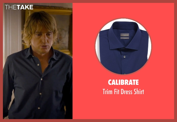 Calibrate blue shirt from She's Funny That Way seen with Owen Wilson (Arnold Albertson)