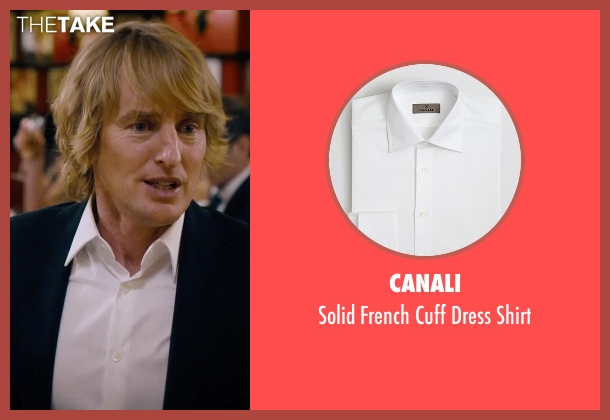 Canali white shirt from She's Funny That Way seen with Owen Wilson (Arnold Albertson)