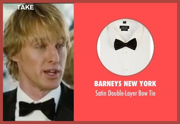 Barneys New York black tie from Wedding Crashers seen with Owen Wilson (John Beckwith)