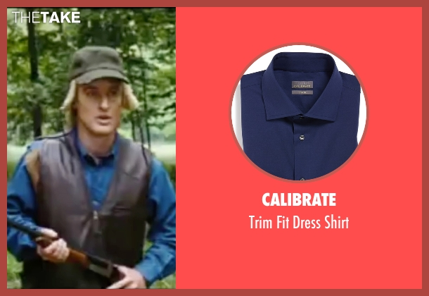 Calibrate blue shirt from Wedding Crashers seen with Owen Wilson (John Beckwith)