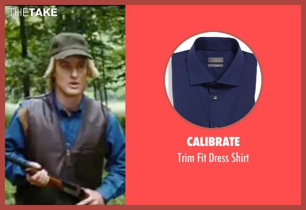 Calibrate blue shirt from Wedding Crashers seen with Owen Wilson (John Beckwith)
