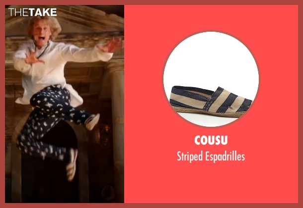 Cousu beige espadrilles from Zoolander 2 seen with Owen Wilson (Hansel)