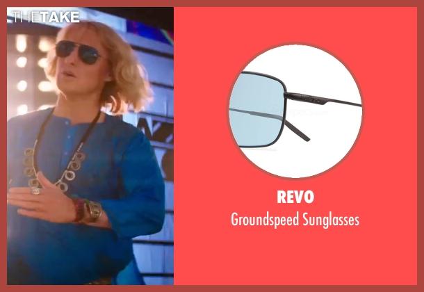 Revo black sunglasses from Zoolander 2 seen with Owen Wilson (Hansel)