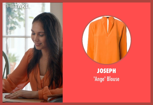 Joseph blouse from And So It Goes seen with Paloma Guzmán (Selena)
